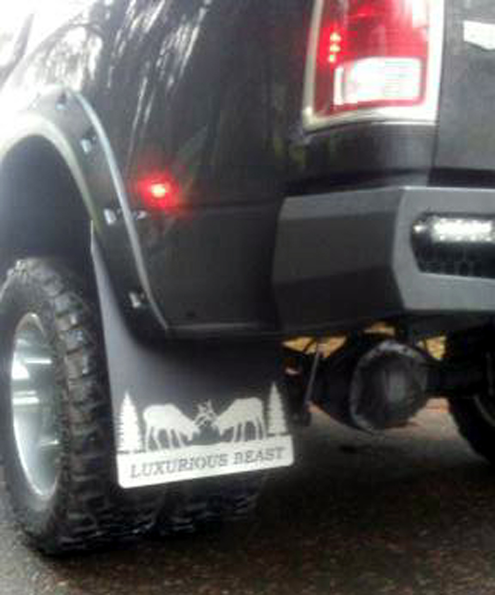 Dually Mud Flaps >> Dually Rear Mud Flaps Dodge 2005 Current 20 Wide Stainless Steel Anchor Weights